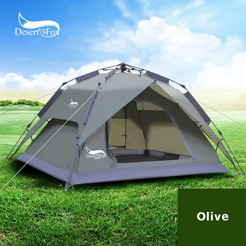 Туристическая палатка Desert & Fox S022-ZDZ на 2-3 человек