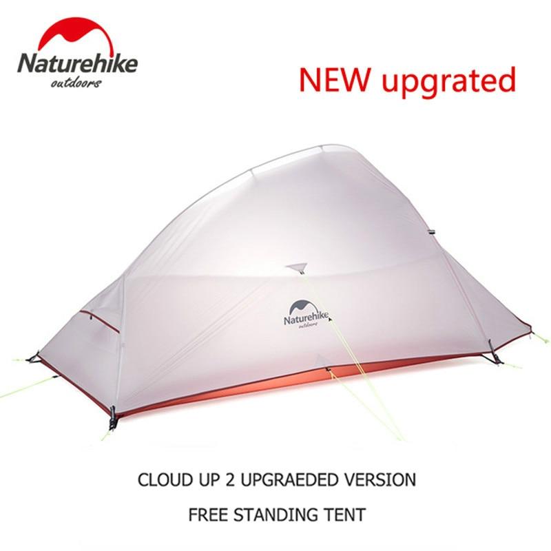 Водонепроницаемая палатка Naturehike Cloud Up Series 123, нейлоновая палатка 20D 210T
