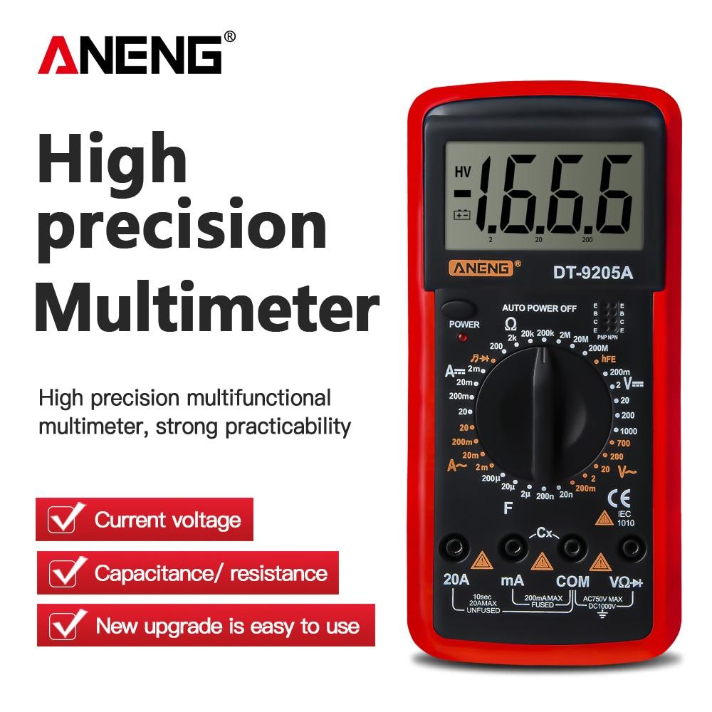 ANENG DT9205A мультиметр цифровой