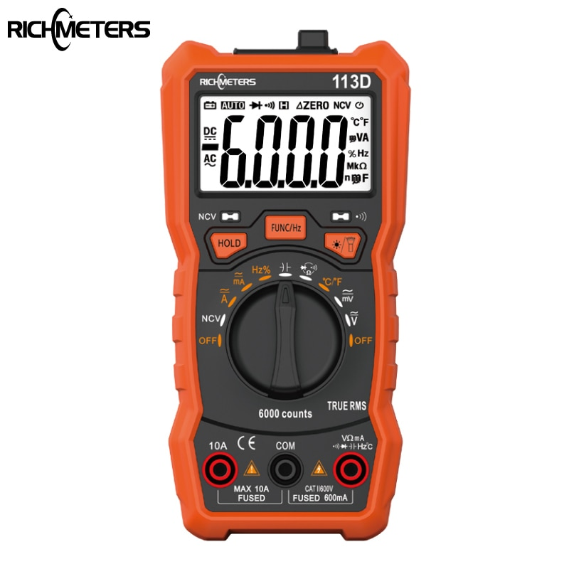Цифровой мультиметр RICHMETERS RM113D НТС