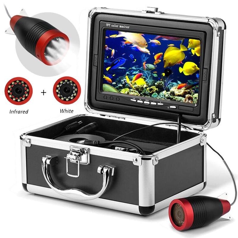Erchang подводная рыболовная камера с монитором 7 дюймов в чемодане