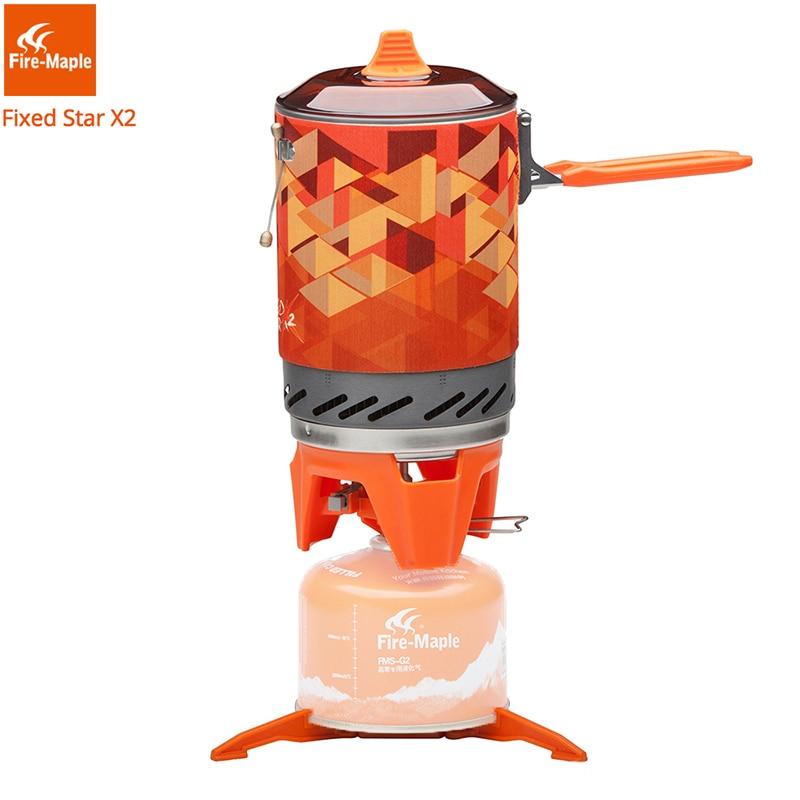 Fire Maple X2 - газовая горелка с теплообменником + котелок