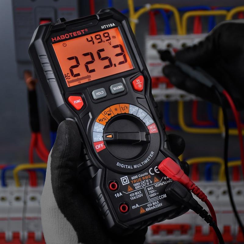 HABOTEST HT118 высокоточный цифровой мультиметр
