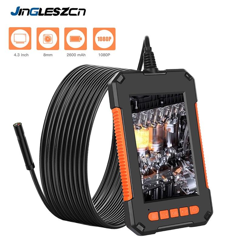 Jingleszcn эндоскоп 1080P HD c экраном 4,3 дюйма