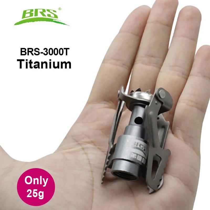 Компактная газовая горелка на баллончик BRS-3000t