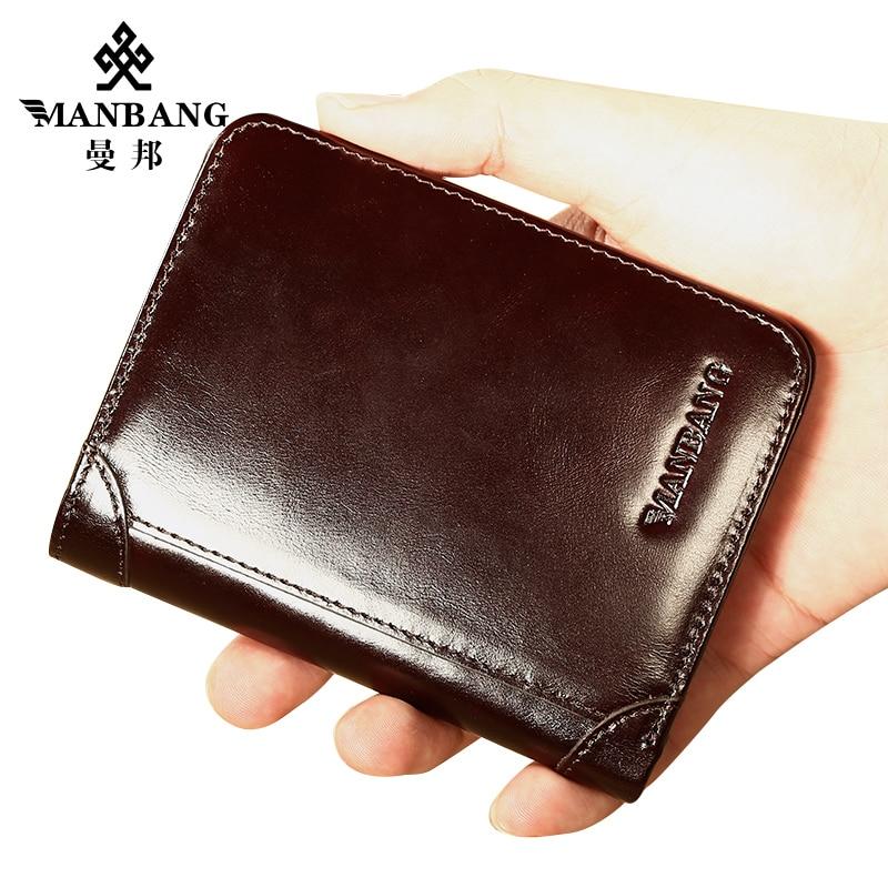 ManBang MBQ0096 кошелек из натуральной кожи