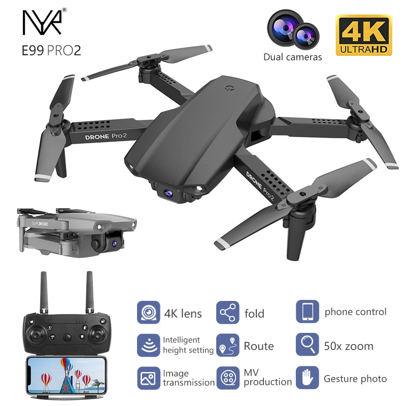 NYR E99 Pro2 - не дорогой квадрокоптер с камерой