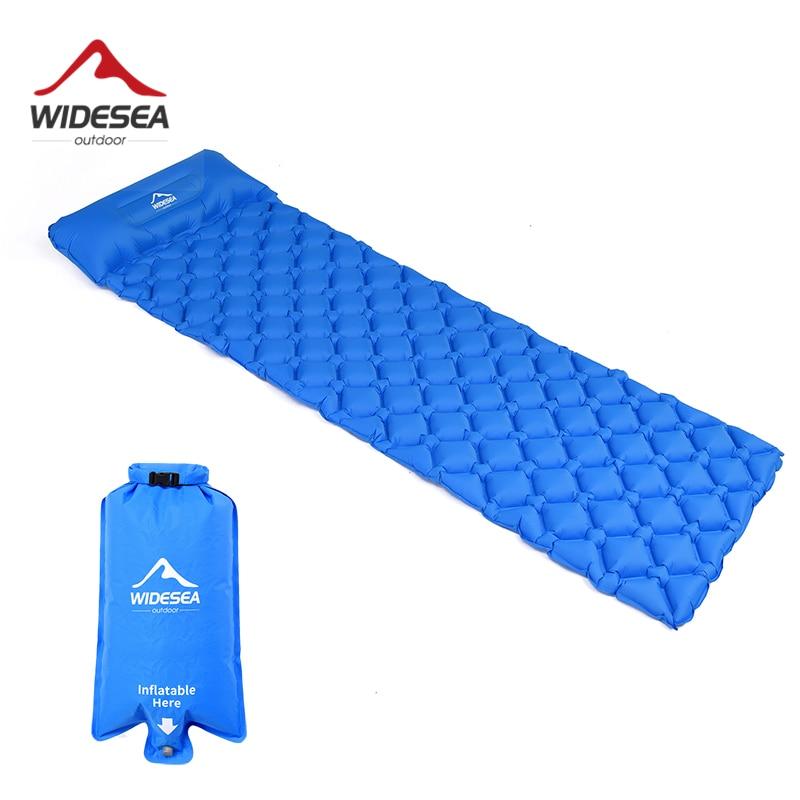 Одноместный надувной матрас Widesea WSCM-001 для палатки