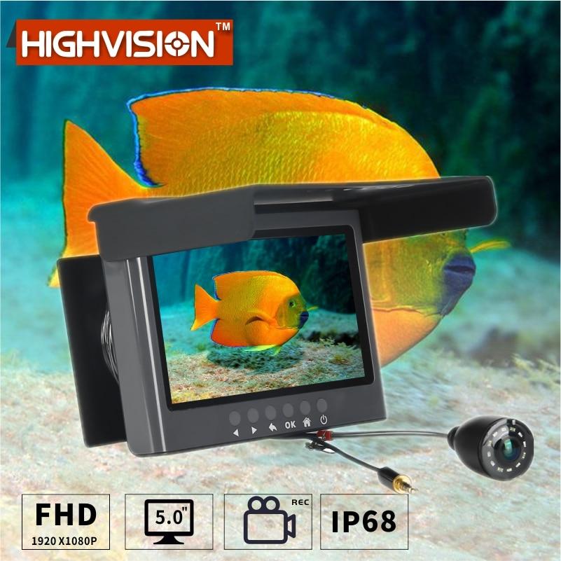 Подводная камера для рыбалки HIGHVISION HRS-601