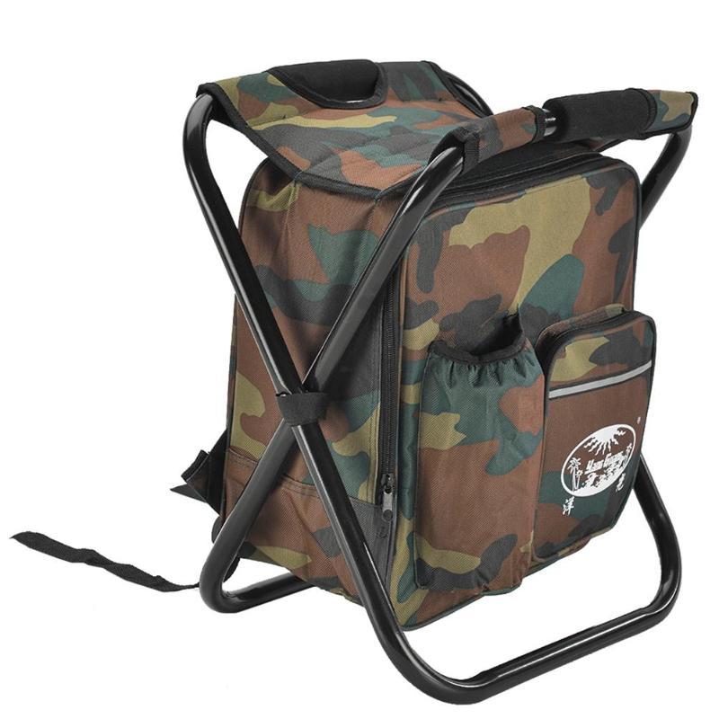 Складное рыболовное кресло с рюкзаком 2 в 1 JOCESTYLE