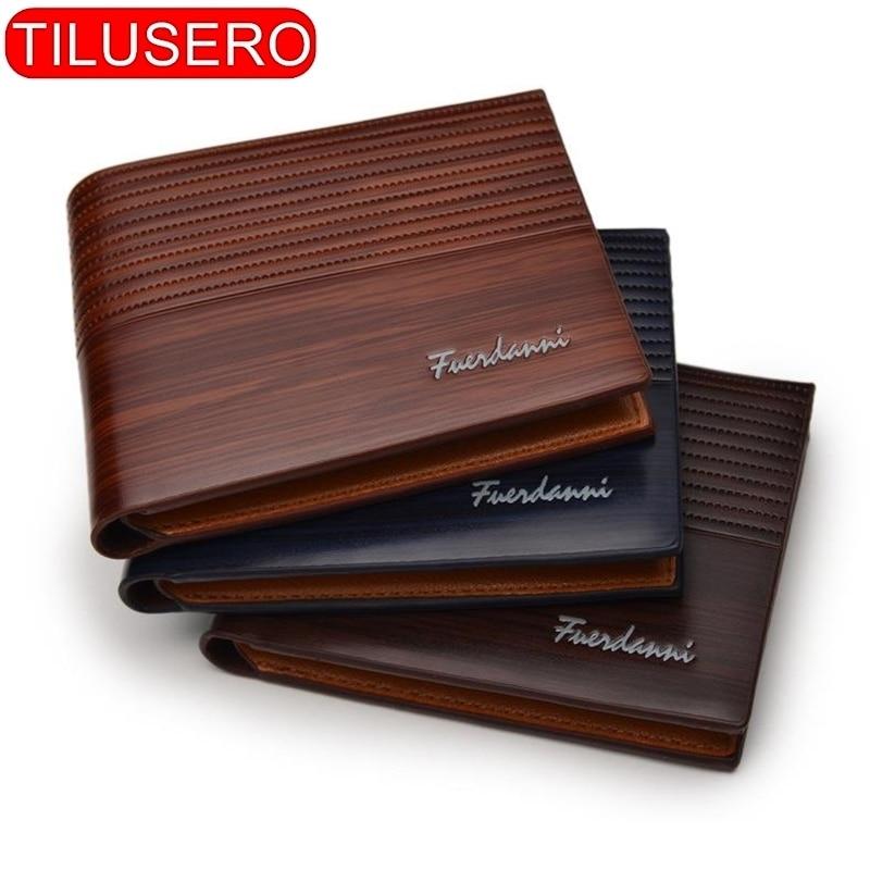 Винтажный мужской кошелек Tilusero RT-026