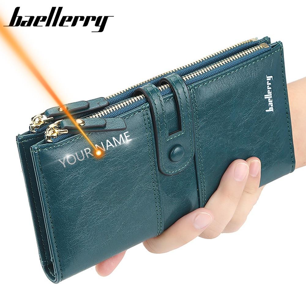 Женский кошелек с гравировкой имени Baellerry bae276