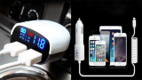 Автомобильная зарядка для телефона на Алиэкспресс