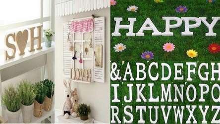Буквы для декора на Алиэкспресс
