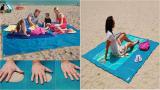 Пляжный коврик (покрывало) «Антипесок»