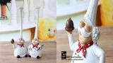 Декоративные статуэтки в виде поваров