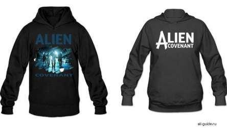 Пара толстовок Alien Covenant
