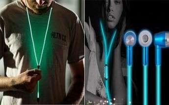 Светящиеся наушники на Алиэкспресс