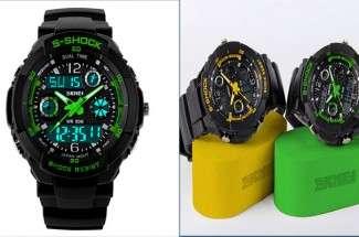 Спортивные часы S-SHOCK на Алиэкспресс