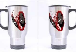 Металлическая термо-кружка Deadpool