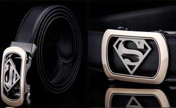 Ремень с пряжкой — супермен